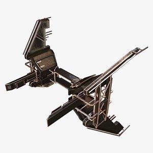 Spaceship Tail E model