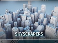 C1 - Skyscrapers - 22 MODELS Low Poly