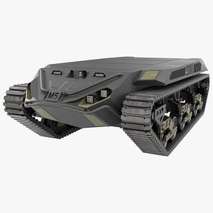Ripsaw M5 Robotic Combat Vehicle 3D model