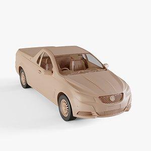 2013 Holden VF Commodore Evoke Ute 3D model