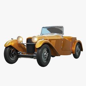 car classic s 3D model