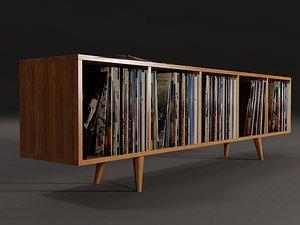 3D vinyl storage