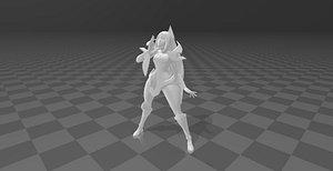 Irelia 3D model