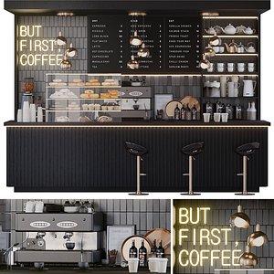 coffee shop 3D model