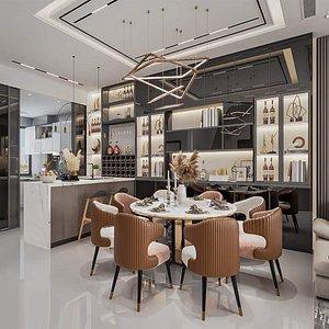 3D model Cool Livingroom
