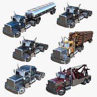 Peterbilt industrial trucks PBR collection