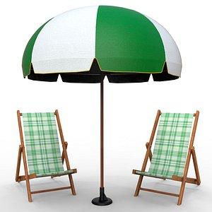 beach set chair model