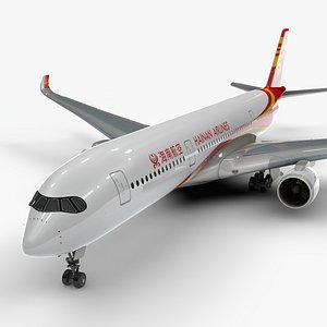 3D a350-900 hainan airlines l1125