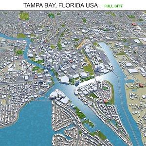 3D Tampa Bay Florida USA