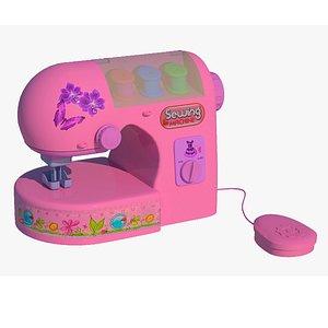 sewing kids machine 3D model