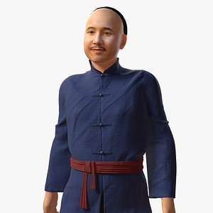 3D qing dynasty chinese