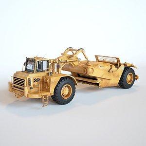Wheel  Tractor  Scraper model