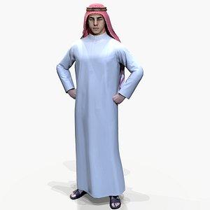 arabian 3D model