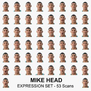 mike clean scans expression 3D