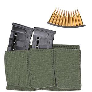 3D magazine bullets