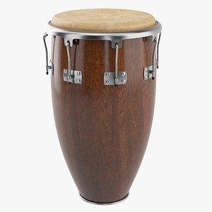 3D Conga Drum model