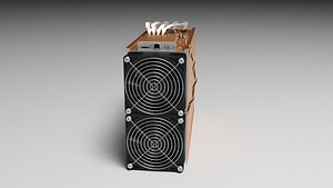 3D Innosilicon A10 Pro Cryptocurrency Asic Mining Hardware model