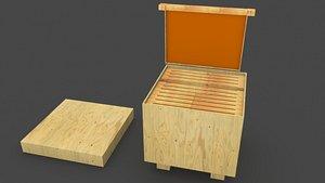 Beekeeping 3D model