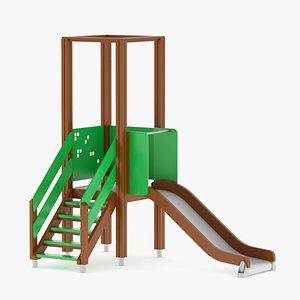 3D Lappset Tower and Slide model