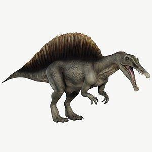 3d model spinosaurus