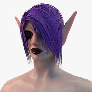 Elf Female Body Set 3D