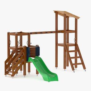 Lappset Activity Tower 16 3D model