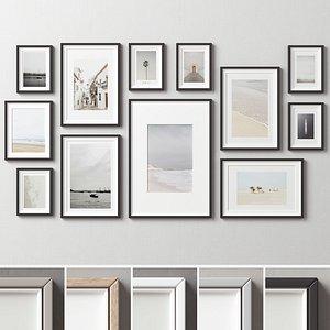 Picture Frames Set-262 3D model