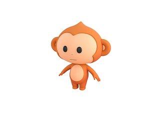 monkey character model