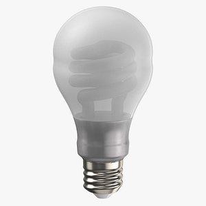 3D Light Bulb 01 model