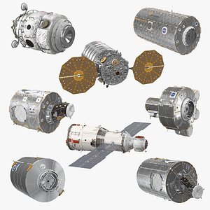 ISS Modules Collection 6 3D