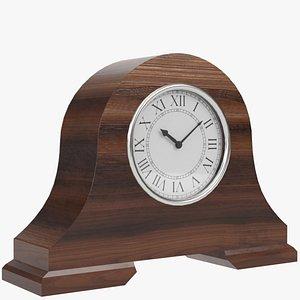 3d model fireside clock 1