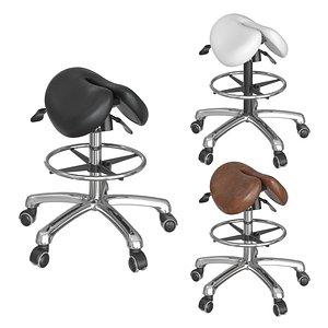 chair saddle 3D