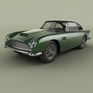Aston Martin DB4 GT 3D