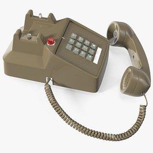 3D model Vintage Telephone Off Hook