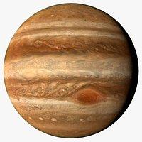 Jupiter and Moons 14K