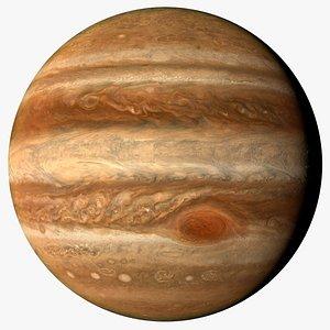 moons planet jupiter 14k 3D model