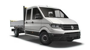 crafter double cab tipper 3D model