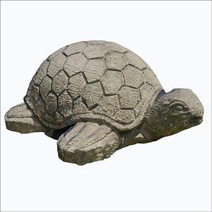 rock turtle photoscan 3D