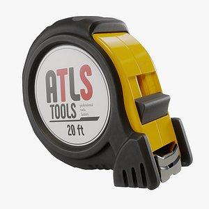 Mini Tape Measure 3D model