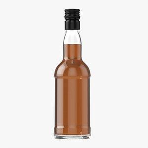 Whiskey bottle 19 3D model