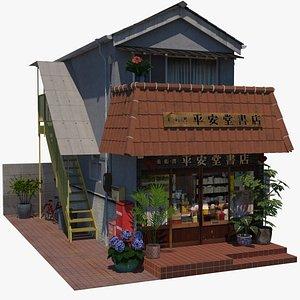 3D model Heiando Bookshop