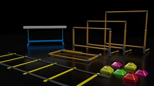 hurdle agility ladder model