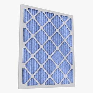 air filter furnace 3D