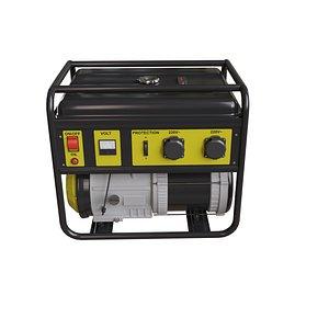 Generator 3D model 3D
