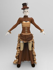 clothing costume fashion model