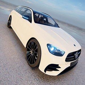 2022 Mercedes Benz E-Class Estate AMG Line 3D