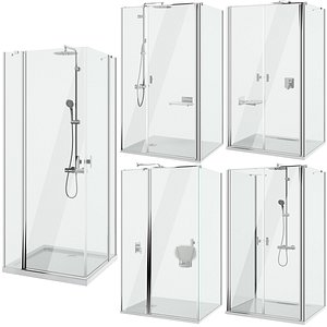 Shower cabins Radaway Nes 8 set 139 model