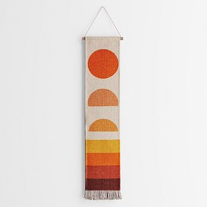 3D Abstract Sunset Wall Hanging