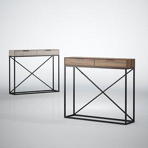 3D Furniture Console 003 FREE