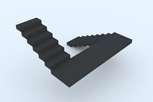 stairs 29 3D model